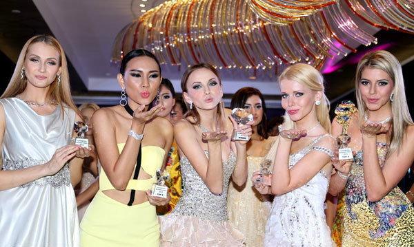 ผลการประกวด Supermodel International 2013