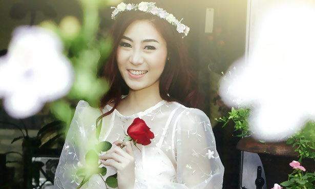 Jane Patcharawadee Wallpaper : The Blossom of Love