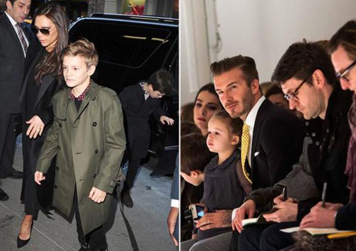 David Beckham คุณพ่อดีเด่น