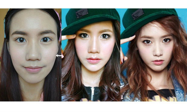 How To แต่งหน้าเกาหลี (ยุนอา) Yoona SNSD Look