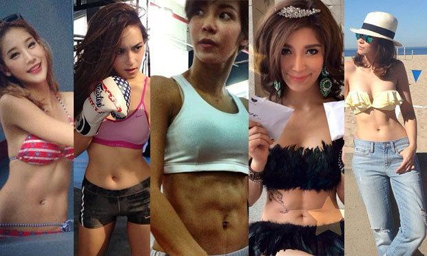 รวมซิกแพคผู้หญิงไทย ที่มองยังไงก็ดูเซ็กซี่ ซู่ซ่า!