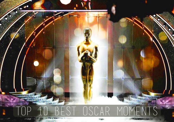 10 เหตุการณ์สุดประทับใจใน Oscars