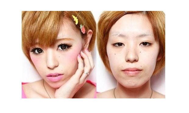 ลุคก่อน-หลัง ความสวยของสาวญี่ปุ่น ทำเอาช็อก!