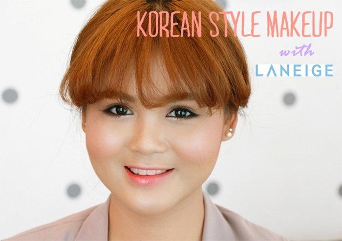 สวยใสสไตล์เกาหลี กับ Laneige