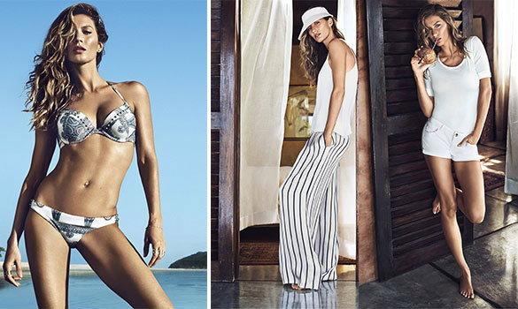 H&M คอลเลคชั่นนี้เซ็กซี่ร้อนระอุ | Gisele Bundchen for H&M