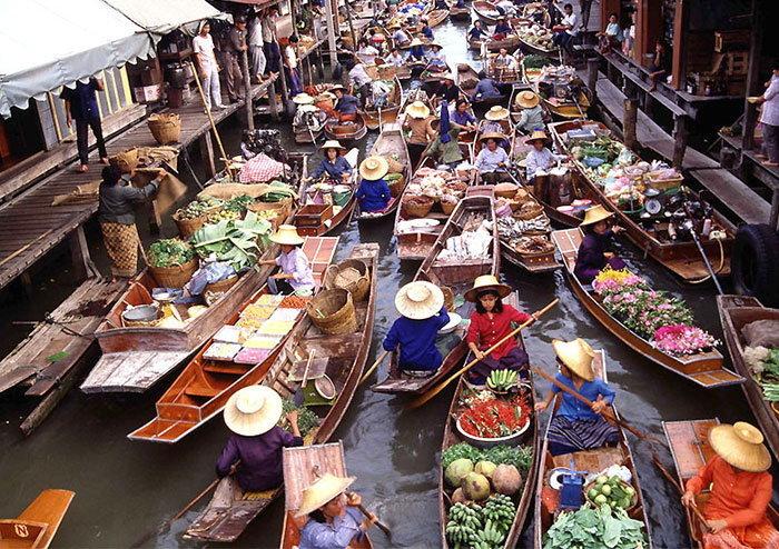 รวม 10 ตลาดน้ำเมืองไทย