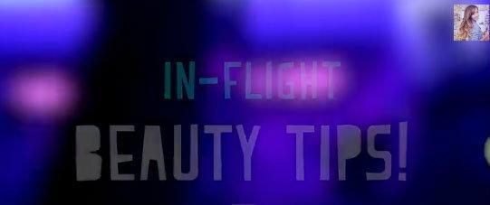 สวยใสไม่โทรมบนเครื่องบิน