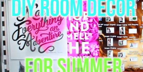 จัดห้องน่ารักสดใสรับซัมเมอร์