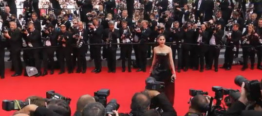 DAY 1 ชมพู่อารยาเดินพรมแดงงาน Cannes 2014