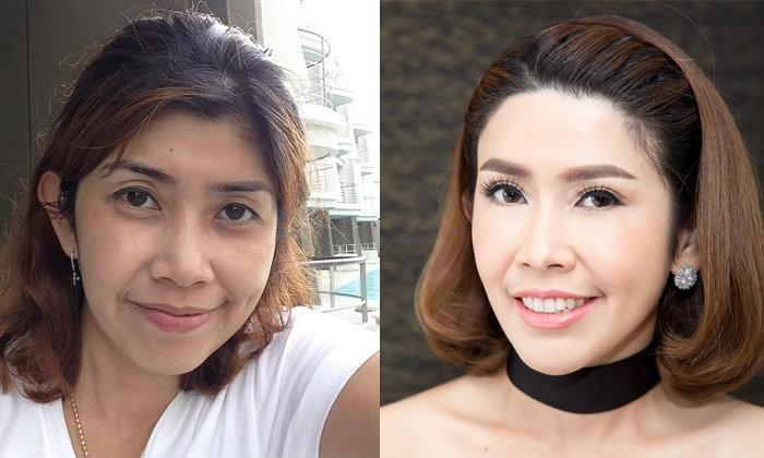 รีวิว ทำสวยแบบ Make over เปลี่ยนสาววัย 40 ให้เป็นคนใหม่