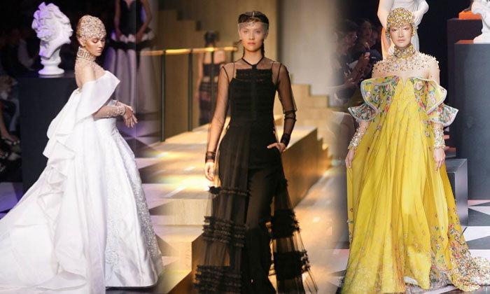 ตามติดแฟชั่นโชว์สุดอลังการ Elle Fashion Week 2017