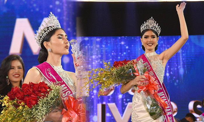 สาวพม่า นัยต์ตาคม! Zun Than Sin เจ้าของมงกุฏ Miss Universe Myanmar 2017