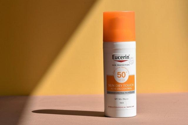 ครีมกันแดด_Eucerin_Sun Dry Touch