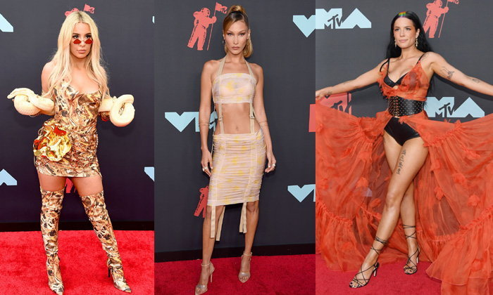 รวมพลคนแซ่บๆ พรมแดงงาน MTV VMAs 2019 คนดังฟาดแฟชั่นกันแบบไม่ยั้ง