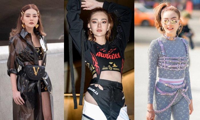 """""""ดิว อริสรา"""" กับแฟชั่นเว้า แหวก แซ่บๆ ที่งาน Seoul Fashion Week"""