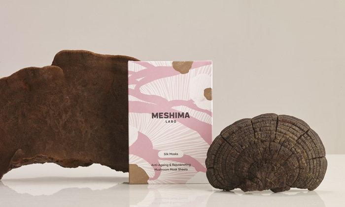 MESHIMA LABO FACE MASK แผ่นมาสก์หน้า ผสานคุณค่าเห็ดพิมาน ครั้งแรกในไทย!