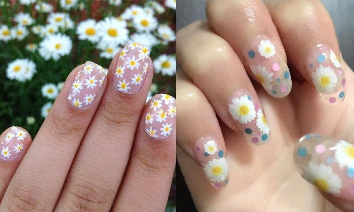 So Daisy รวมเล็บลายดอกเดซี่ น่ารักสุด คิวท์สุด