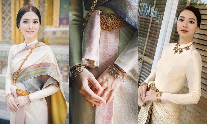 ตามส่องชุดไทยหลักล้าน! มิว นิษฐา พร้อมเทคนิคการแต่งหน้า สวยงามดั่งนางในวรรณคดี