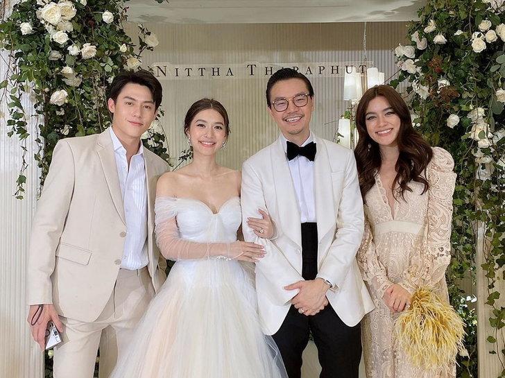 มิวนิษฐา กับ 7 ชุดแต่งงาน เรียบหรู คลาสสิก สวยหวานทุกลุค