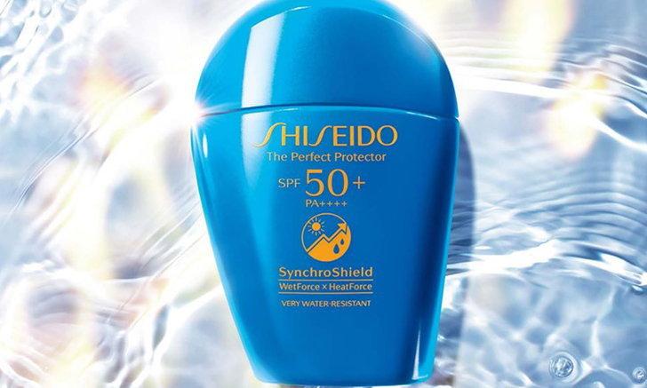 กันแดดสูตรล่าสุด ปกป้องผิวจากแสงแดด เมื่อผิวสัมผัสน้ำและความร้อน จาก Shiseido