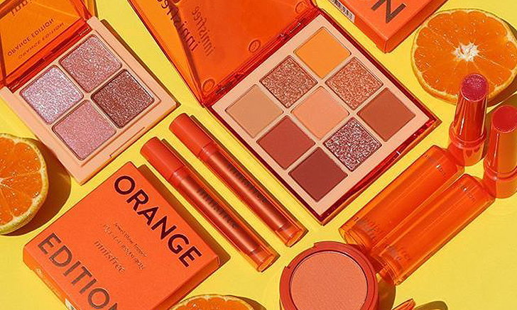 "Innisfree ปล่อยคอลเลคชั่นใหม่ ""Orange Edition"" เมคอัพโทนสีส้มกับความสดใสขั้นสุด"