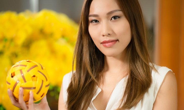 """หินลับคม ของ """"ครีม ศุภากร"""" ผู้จัดหญิงดาวเด่น แข่งเซปักตระกร้อไทย ให้ดังไกลระดับโลก"""