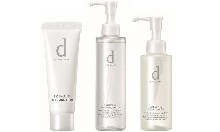 d program เผย 3 ผลิตภัณฑ์ทำความสะอาดผิวหน้า ฟื้นบำรุงผิวแห้งกร้านให้เนียนนุ่ม