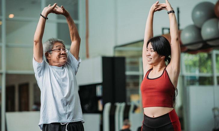 7 รูปแบบการออกกำลังกายสำหรับผู้สูงอายุ ลดโอกาสการบาดเจ็บได้ดี
