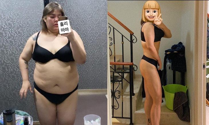 """""""ยาง ซูบิน"""" ลุคล่าสุดหลังคุมอาหารและออกกำลังกาย จนลดน้ำหนักได้กว่า 50 กิโลกรัม"""