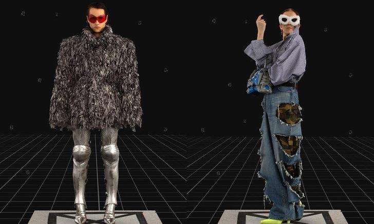 Balenciaga นำเสนอคอลเลกชั่น Fall 2021 ผ่านรูปแบบวิดีโอเกม บนรันเวย์เสมือนจริง