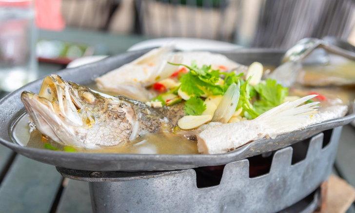 อร่อยแคลฯ ต่ำด้วยปลาดอลลี่นึ่งมะนาว ทำง่ายแม้อยู่บ้าน