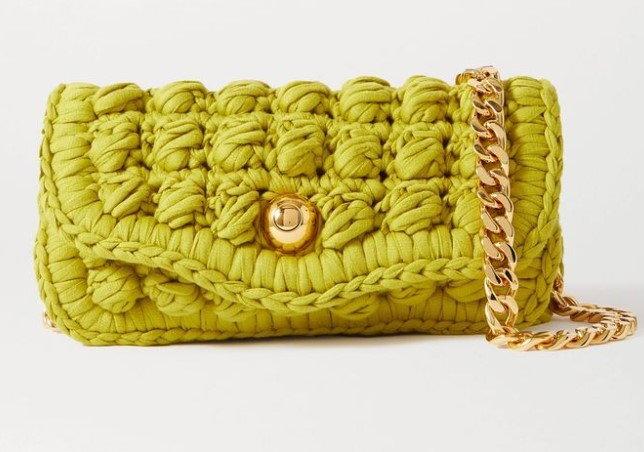 กระเป๋าสาน $4,500 (135,270 บาท) จาก Bottega Veneta
