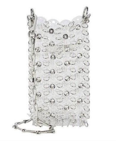 กระเป๋า $445 (13,376 บาท) จาก Paco Rabanne