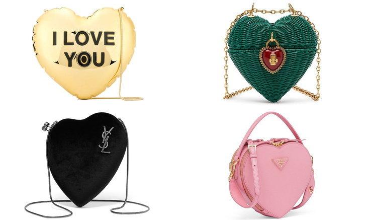 รวมไอเทมแฟชั่น กระเป๋าทรงหัวใจ สุดชิคเพิ่มความเป็นหญิง แถมดูมีสไตล์