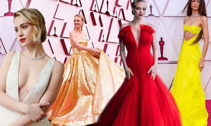 """รวบตึง 10 Best Dressed สุดโดดเด่นบนพรมแดงรางวัล """"ออสการ์ 2021"""""""