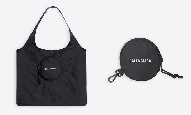 ถุงช้อปปิ้ง พับเก็บได้ พกสะดวก จาก Balenciaga