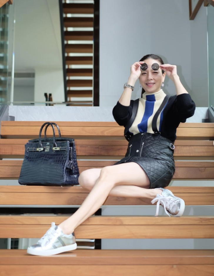 มาดามแป้ง กระเป๋า Hermès