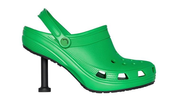 ลืมรองเท้าโฟมพื้นหนาแบบเดิมๆ ไปเลย เมื่อ Balenciaga x Crocs ก็จะได้รองเท้าทรงประมาณนี้!