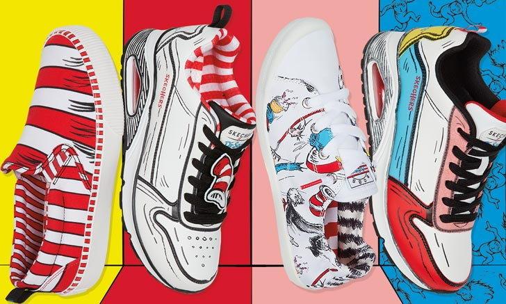 สีสันสดใส มาพร้อมความคิวท์ บนสนีกเกอร์ SKECHERS X Dr. Seuss