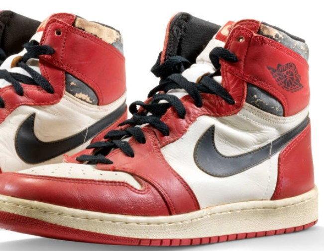 """Air Jordan 1 """"Michael Jordan's Game-Worn"""""""