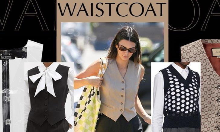 #StyleSteal ถึงเวลาของเสื้อกั๊ก หยิบไอเท็มคลาสสิคมาแมทช์ให้เท่แบบ Kendall Jenner