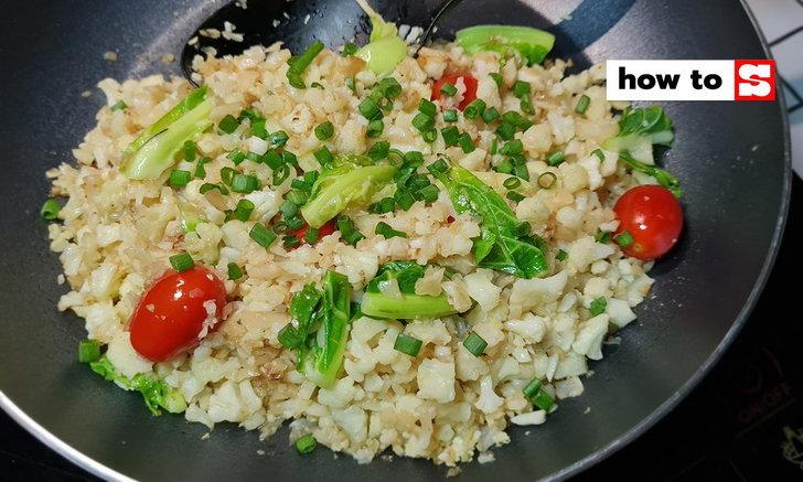 วิธีทำผัดกะหล่ำดอก หอมกรุ่นกรุบกรับ อาหารมังสวิรัติมัดใจคนไม่ชอบผัก