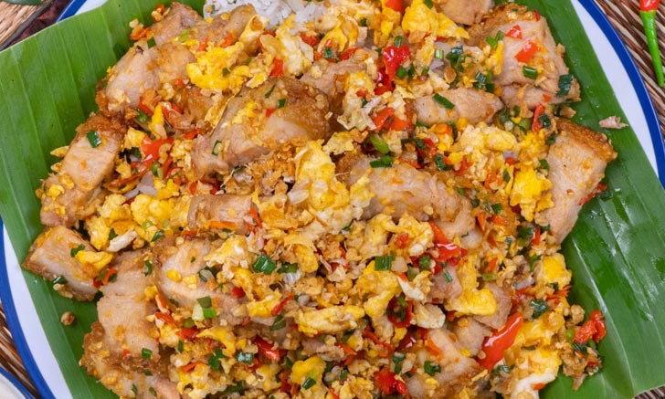 วิธีทำไข่คั่วพริกเกลือหมูกรอบ กรุบเต็มคำ