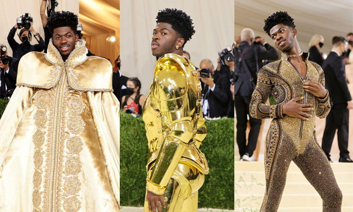Lil Nas X กับ 3 ชุด Versace สุดอลังการ ในงาน Met Gala 2021