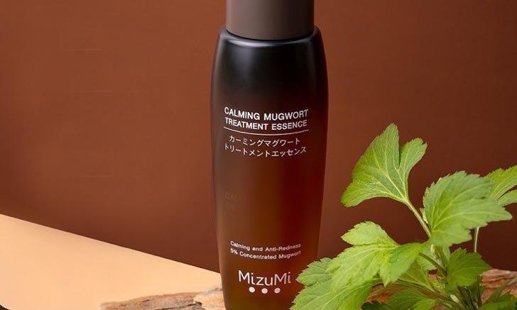 MizuMi Calming Mugwort Treatment Essence น้ำตบจิงจูฉ่าย เพื่อผิวแข็งแรง