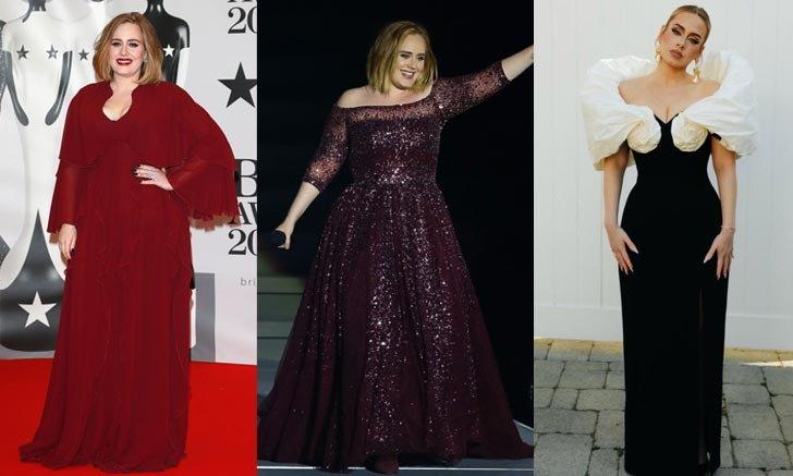 """""""Adele"""" เผยภาพล่าสุด หลังจากลดน้ำหนักไปกว่า 50 กิโลกรัม สวยปังมาก"""