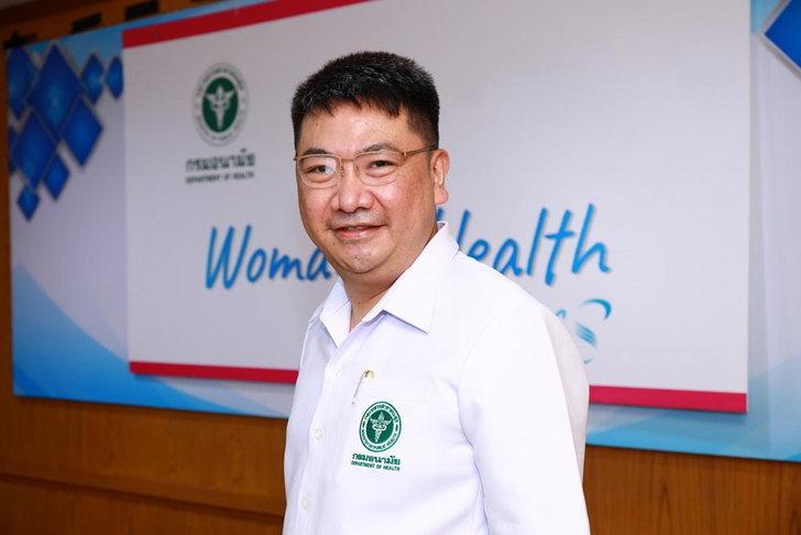 นายแพทย์พีระยุทธ สานุกูล ผู้อำนวยการสำนักอนามัยการเจริญพันธุ์ กรมอนามัย กระทรวงสาธารณสุข