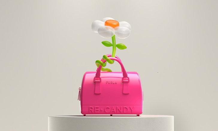 Furla Re-Candy จากกระเป๋ารุ่นไอคอนนิคสู่ความยั่งยืนสไตล์ใหม่