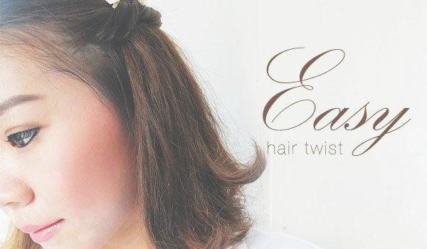 Easy Hair Twist