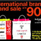 International brands grand sale up to 90%